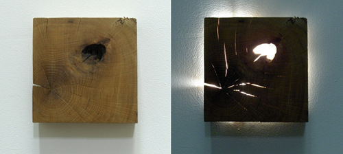Zeke Leonard - Reclaimed Oak Sconce