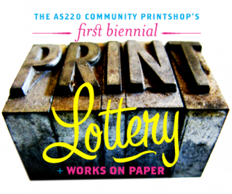 AS220 Community PrintShop First Biennial PrintLottery!