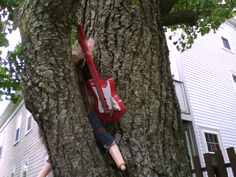 "Lost and Found: ""Rocker Girl Up A Tree"""